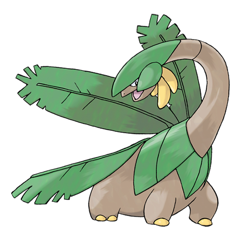 Artwork de Tropius