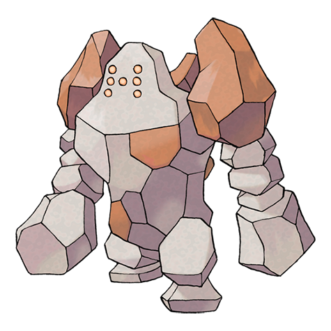 Artwork de Regirock